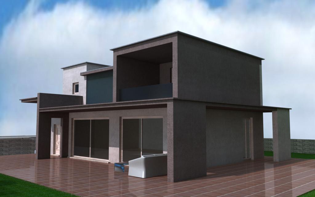 Villa singola zona collinare armanni real estate for Villa singola moderna